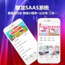 SAAS版云商城 多商户独立分站系统  公众号+小程序二合一 提供源码